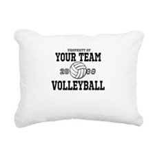Personalized Property of Your Team Volleyball Rect