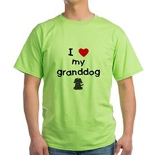 I love my granddog (4) T-Shirt