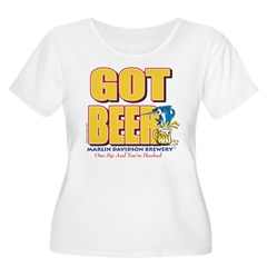 GOT BEER - Marlin Davidsons Women's Plus Size Scoo