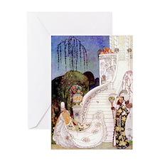 Cinderella Leaves at Midnight by Kay Nielsen Greet