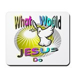 What Would Jesus Do Mousepad