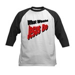 What Would Jesus Do Kids Baseball Jersey