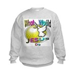 What Would Jesus Do Kids Sweatshirt