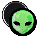 "Alien Invader 2.25"" Magnet (10 pack)"