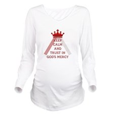 KEEP CALM AND TRUST IN GOD'S MERCY Long Sleeve Mat