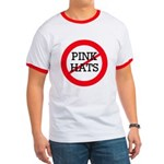 No Pink Hats Ringer T