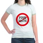 No Pink Hats Jr. Ringer T-Shirt