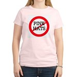 No Pink Hats Women's Light T-Shirt