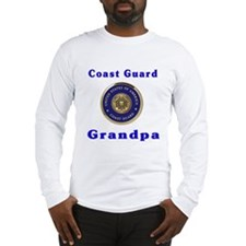 coast guard grandpa Long Sleeve T-Shirt