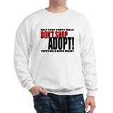 Don't Shop, Adopt! Puppy Mills Sweater