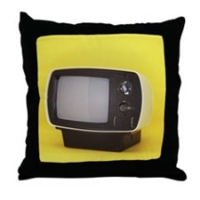 Vintage TV Throw Pillow
