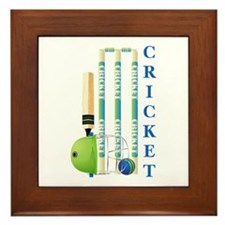 Cricket Framed Tile
