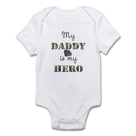 My Daddy Is My Hero Infant Bodysuit