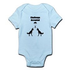 TRex Challenge Accepted Infant Bodysuit