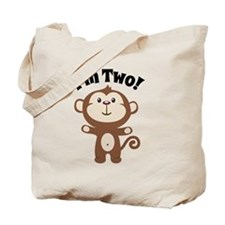 Monkey Im 2 Tote Bag