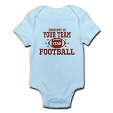 Personalized Property of Your Team Football Body S