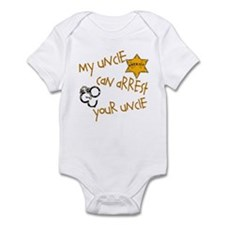 Sheriff-Mine Can Arrest Yours Infant Bodysuit