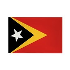 Timor-Leste Flag Rectangle Magnet