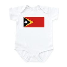 Timor-Leste Flag Infant Bodysuit
