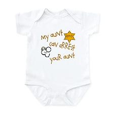 Sheriff-My Aunt Infant Bodysuit