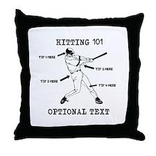 Hitting 101 Personalized Baseball IQ Original Thro