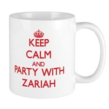 Keep Calm and Party with Zariah Mugs