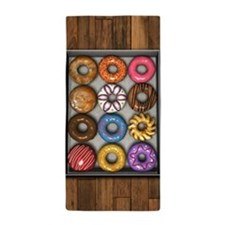 Box of Doughnuts Beach Towel
