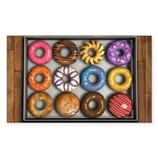 Box of Doughnuts Decal