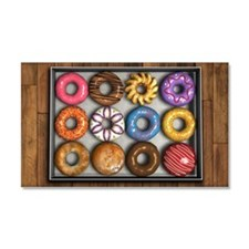Box of Doughnuts Car Magnet 20 x 12