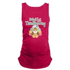 1st Thanksgiving Maternity Tank Top