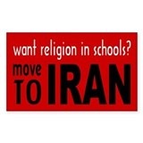 Move to Iran -  Aufkleber