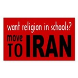 Move to Iran - Decal