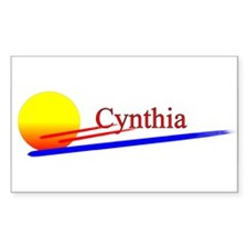 Cynthia Rectangle Decal