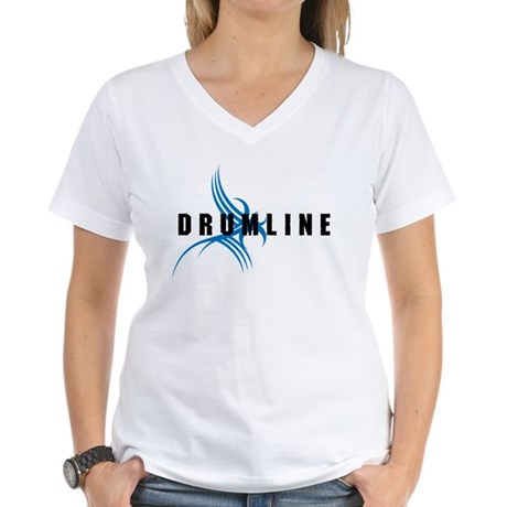 Drumline Women's V-Neck T-Shirt