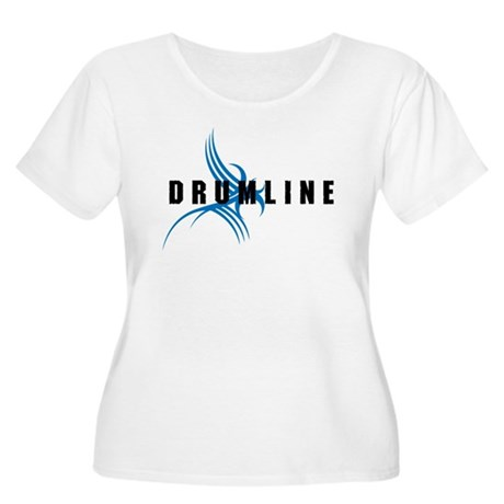 Drumline Women's Plus Size Scoop Neck T-Shirt