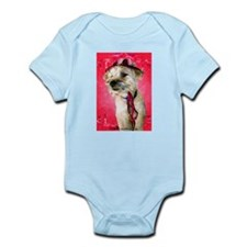 Red Hat Cairn Infant Onesie Creeper