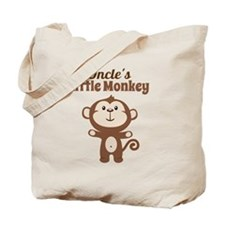 Uncles Little Monkey Tote Bag