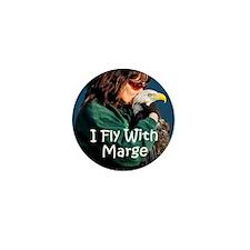 I Fly With Marge Ceramic Travel Mug Mini Button
