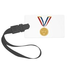 Gold Medal Of Honor Luggage Tag