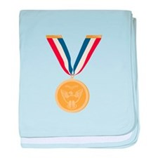 Gold Medal Of Honor baby blanket