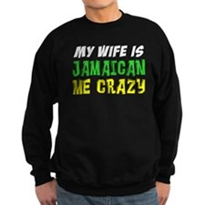 Wife Is Jamaican Me Crazy Jumper Sweater