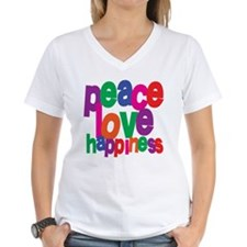 Peace, Love, Happiness Shirt