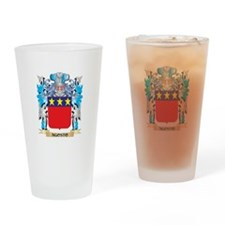 Agosto Coat Of Arms Drinking Glass