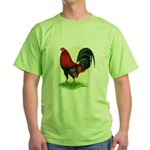 Red Gamecock2 Green T-Shirt
