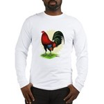 Red Gamecock2 Long Sleeve T-Shirt