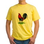Red Gamecock2 Yellow T-Shirt