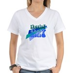 What Thesis? Women's V-Neck T-Shirt