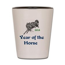 Year of the Horse - 2014 Shot Glass