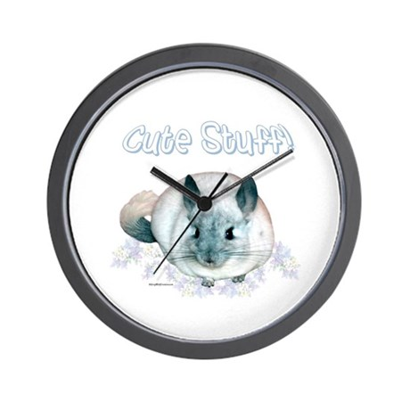 Chin Cute Wall Clock
