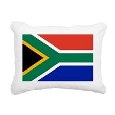 South Africa Flag Rectangular Canvas Pillow